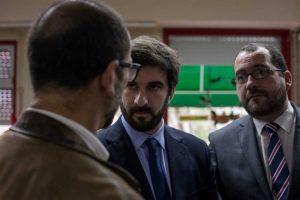 Ministro da Educação, Tiago Brandão Rodrigues, com João Costa, secretário de Estado da Educação